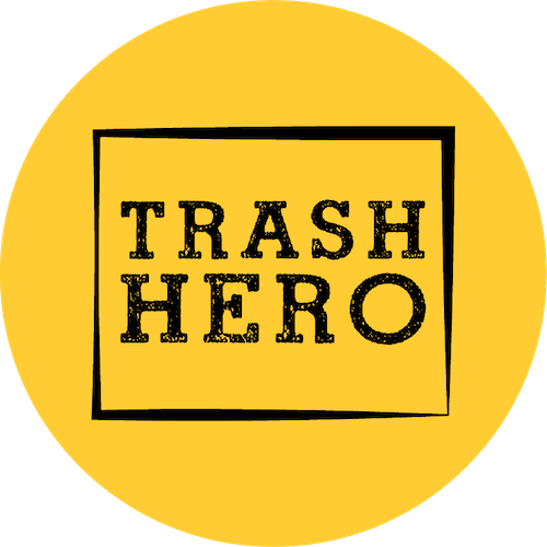 trash hero logo circle